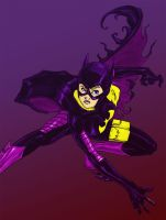 Stephanie Brown Batgirl by erkhart