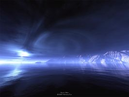 Arctic Bliss - Terragen by furryphotos