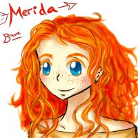 Merida by EllenorMererid