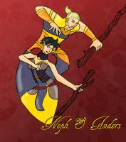 Dragon Age: Neph and Anders by InverseReality-2