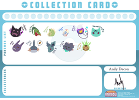 Andy Collection Card by Immonia