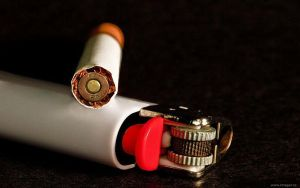 Bullet or Cigarettes ? by Bast68