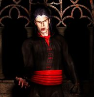 Male Vampire WIP - finished by brokenangel