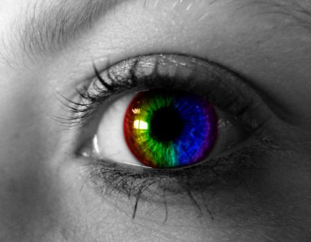 The Rainbow Eye by BenXT