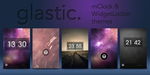 Glastic Themes! - WL + mClock by undefinist