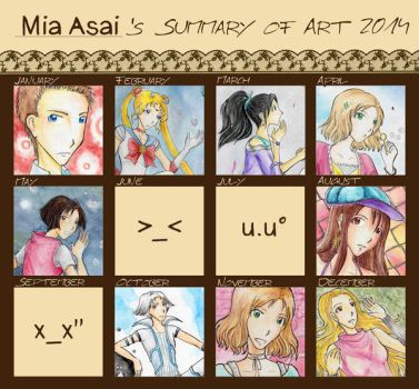 Art Meme 2014 by mia-asai