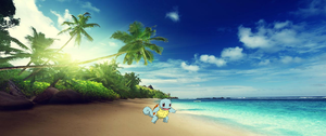 Squirtle Background by PartyTimePegasus