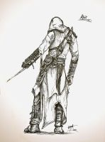 old sketch altair by Candelantern