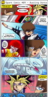 Spark Comic #89 - Dueling Dorks by SuperSparkplug
