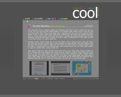 COOL's site 'Version 1 by kuraika
