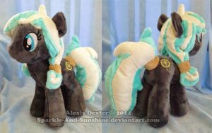 Custom Pony Plush - Kua by Sparkle-And-Sunshine
