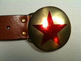 Communist Star-buckle by MudgetMakes