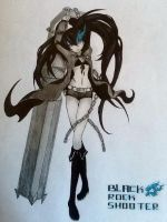Black rock shooter by Vocaloid2743