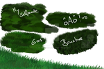Gras Brushes by JB-Pawstep