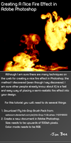 Fire In Photoshop - Tutorial by PerpetualStudios