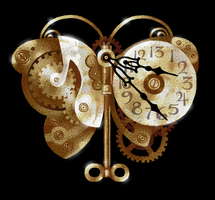 Clockwork Butterfly Redux by littlecrow