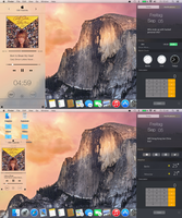 OSX Yosemite Music Player by PeterRollar