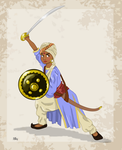 Historical Disney Warrior Princess - Shanti by Pelycosaur24