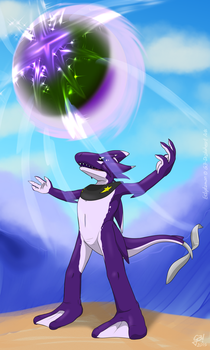 Moon spell | Digimon G2 Picture by G3Drakoheart-Arts
