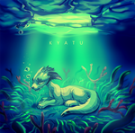 Under the ice you can't see my tears by kyatu