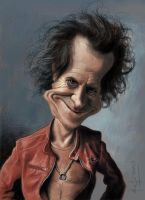 Keith Richards by StudioCandia