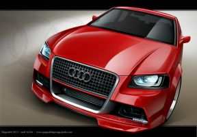 audi A3 kitt - peppus84 by peppus84