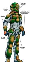 Kshatriya Body Armour by RyujinDX