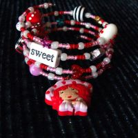 Strawberry Shortcake Bracelet by wickedland