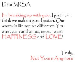 Dear Mrsa by themrsa