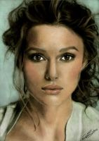 Keira Knightley Colour by emiliestabell