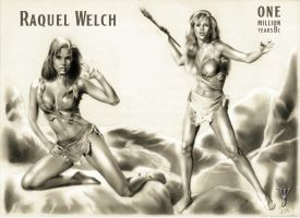 RAQUEL WELCH-1million years BC by jairolago