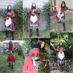 Alice Cosplay Collage by SapphireEagle