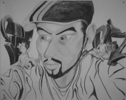 Another Self Portrait by tenseone