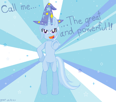 The great and powerful Trixie!!! by Sasinun