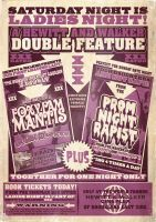 Ladies Night Double Feature by ameba2k