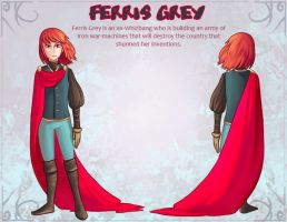 Ferris Grey Character Sheet by Paperwick