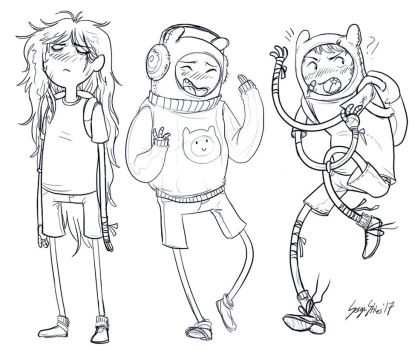 Three Finn Emotions by Serge-Stiles
