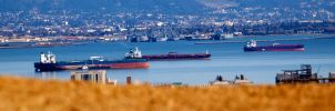 Ships - from Corona Heights by MaxHedrm0