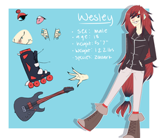 wesley by jinuro