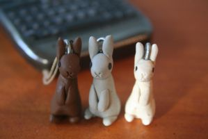 Polymer Bunnies by shlickpea