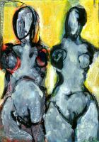 Deux Figures 6 by gilbertlayole