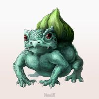 001 - Bulbasaur by DLouiseART