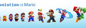 Evolution Of Mario by Modernerd