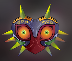 Majora's Mask by HappyCrumble