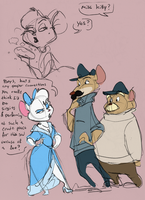 Meeting Miss Kitty by TopHatTurtle