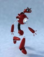 Red Bot by ART-HAUS-STUDIOS