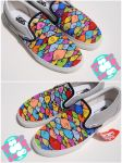 eyes shoes by mburk