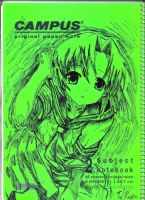 higurashi notebook set 1 by kyo31