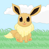 A wild Eevee appears! :3 by kovuification