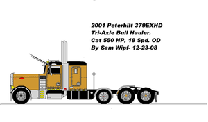 Peterbilt Bull Hauler2ms paint by 18KyBuschfan